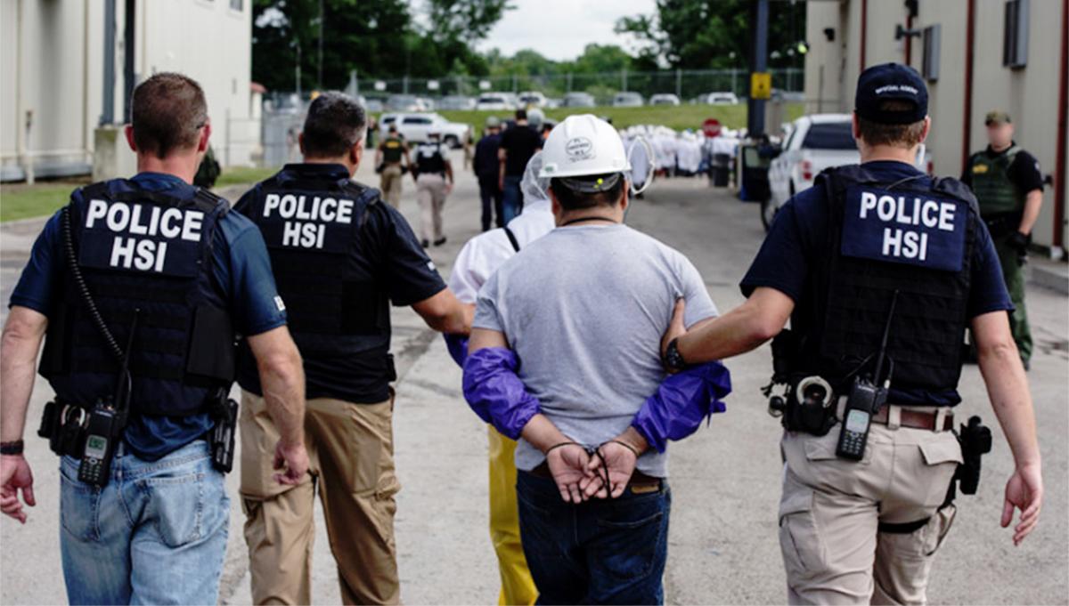 Foto25 Batida ICE Trump quer deportação de indocumentados com menos de 2 anos nos EUA