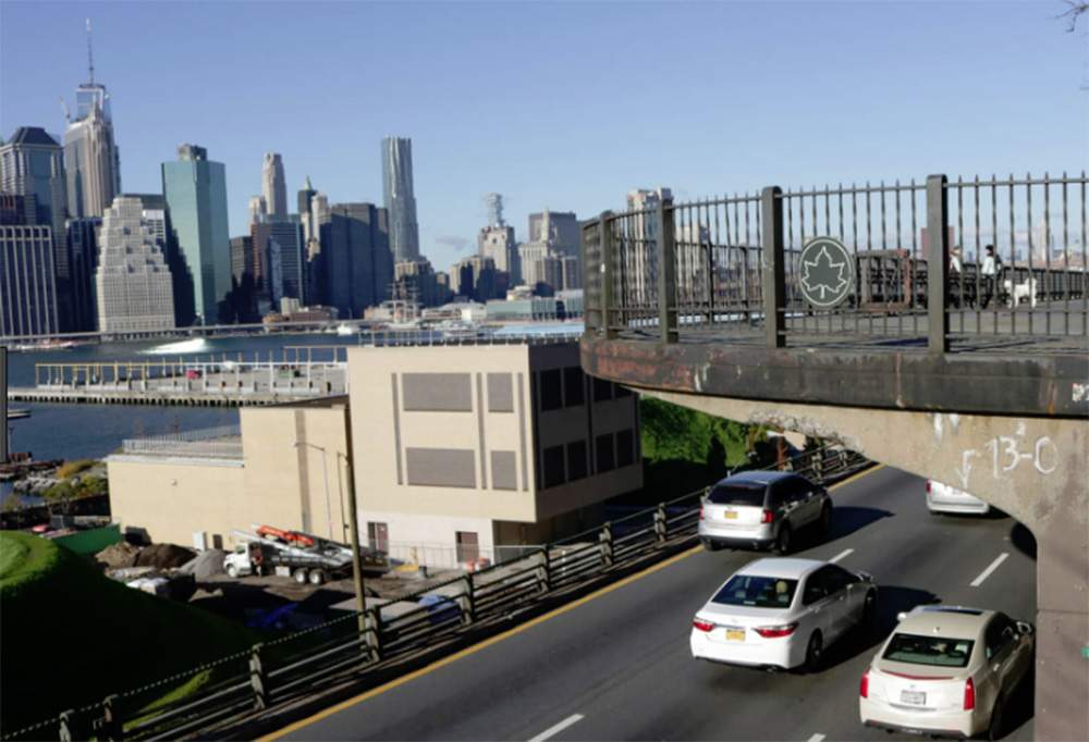 Foto8 Brooklyn Queens Expressway  Brasileiro morre em acidente de moto em Nova York