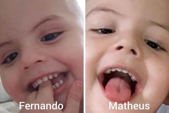 Após perder irmão gêmeo, brasileirinho busca doador de medula óssea