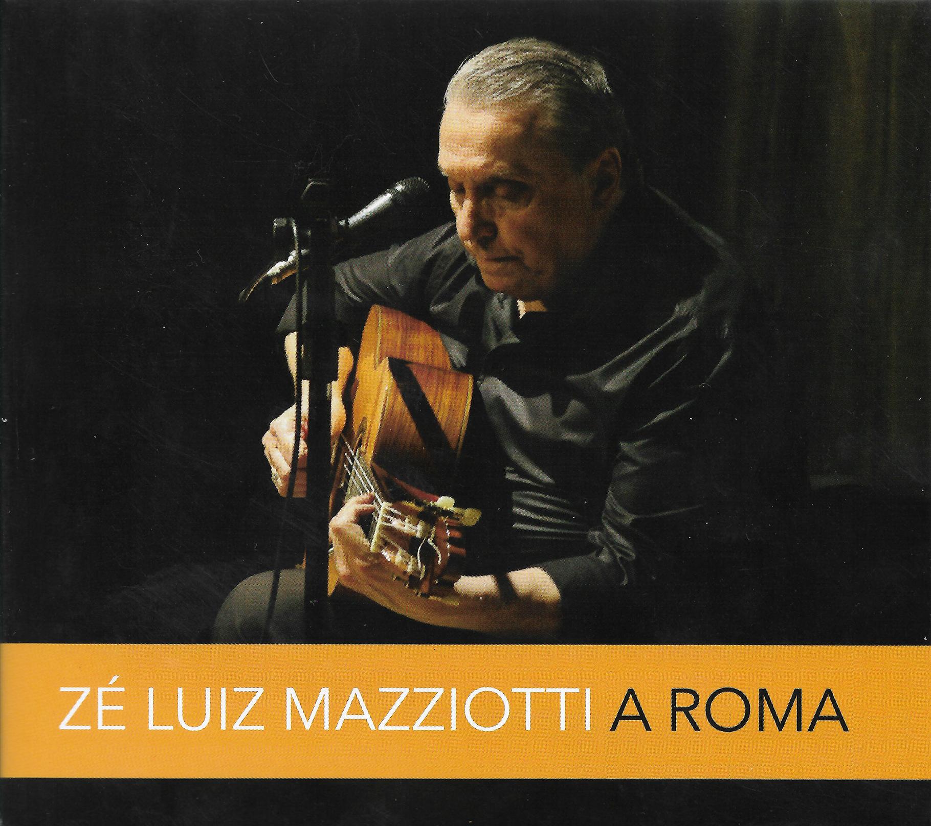 Capa CD Zé Luiz Mazziotti A voz e o violão de Zé Luiz Mazziotti