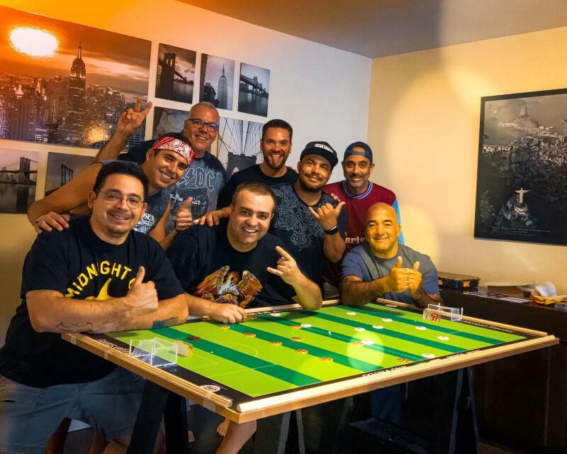 Foto15 Torneio de Futebol de Botao  Brasileiros realizam 1º torneio temático de futebol de botão em NY