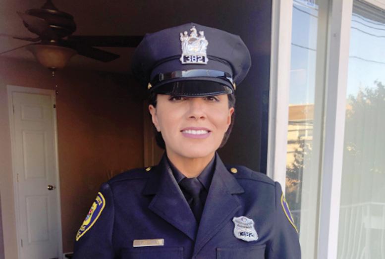 Foto16 Glauciene Lima Brasileira gradua se na Academia de Polícia e vai trabalhar em Elizabeth