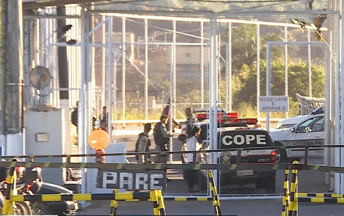 """Foto8 Penitenciaria Nelson Hungria Preso no Brasil líder de quadrilha de """"coiotes"""" que agia nos EUA"""