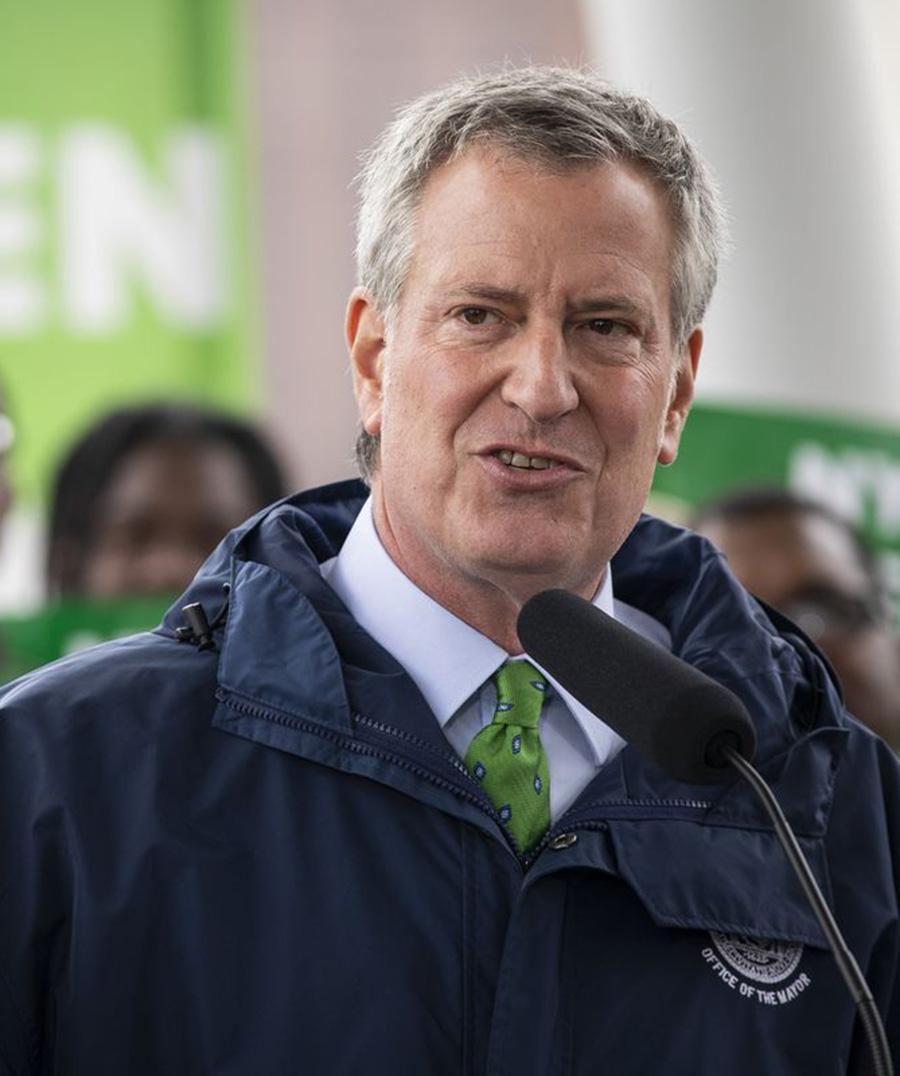 Foto16 Bill de Blasio Bill de Blasio desiste de candidatura à presidência dos EUA