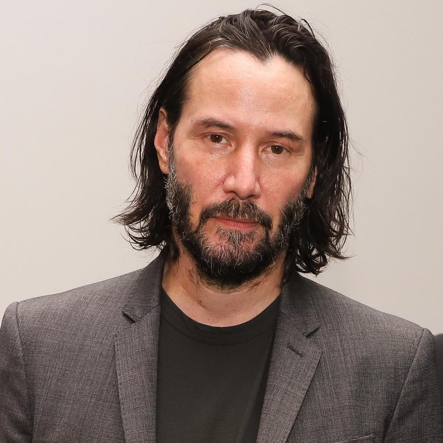 """Foto23 Keanu Reeves Ator Keanu Reeves grava série """"Conquest"""" da Netflix no Brasil"""
