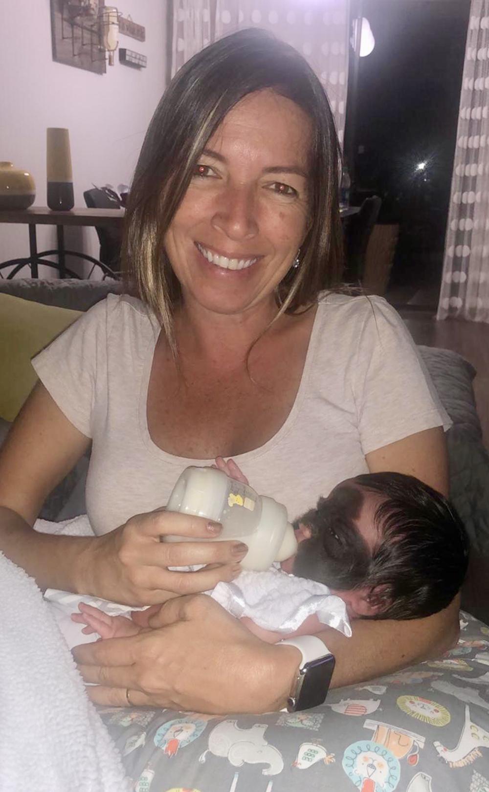 Foto4 Carolina Fenner e Luna Brasileirinha terá cirurgia para retirada de condição rara na Rússia