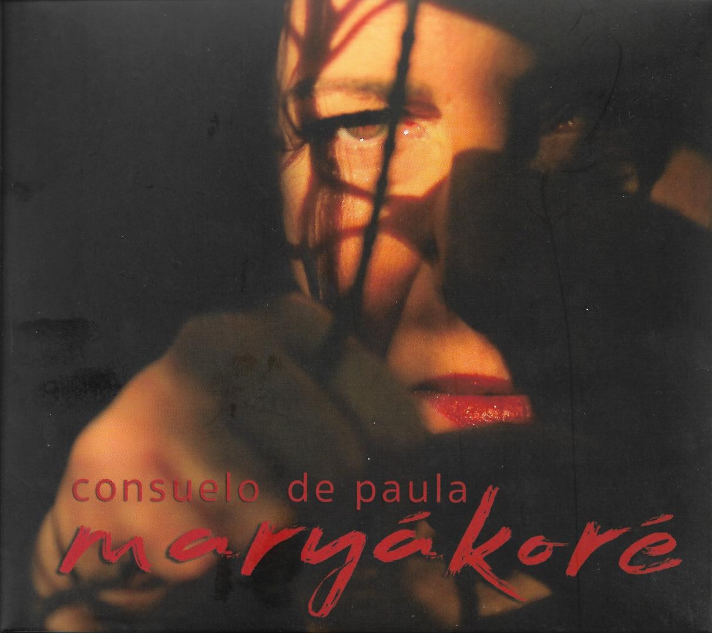 Capa CD Consuelo de Paula Maryákoré Um álbum poético