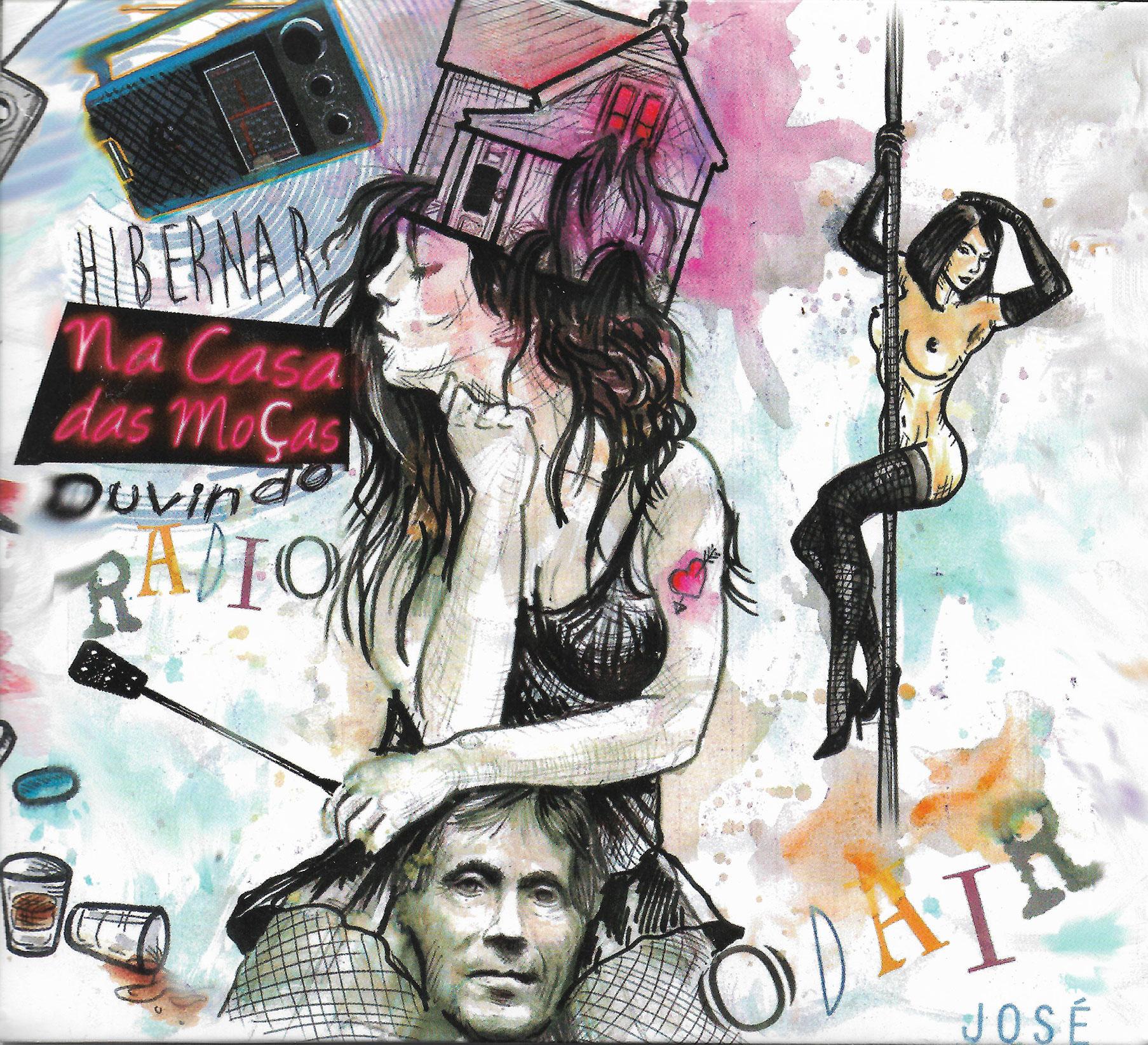 Capa CD Odair José HibernarNaCasa DasMoçasOuvindo Rário Um Quixote pós moderno