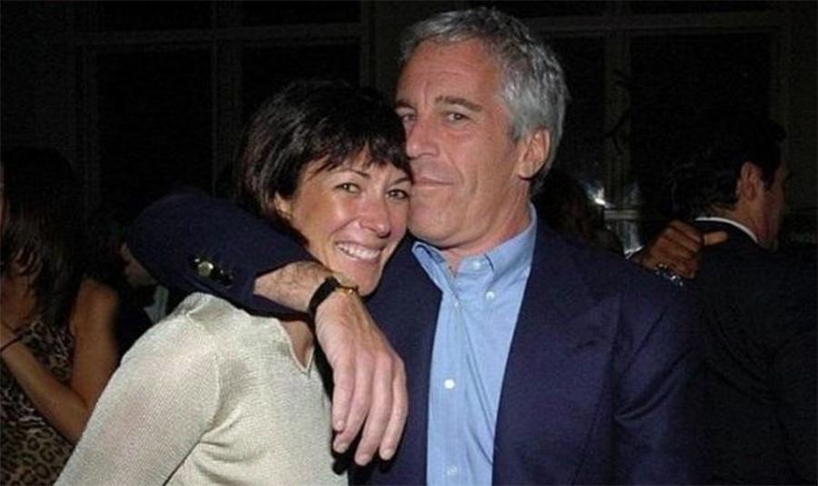 Foto1 Jeffrey Epstein e Ghislaine Maxwell Ex namorada de Jeffrey Epstein pode estar foragida no Brasil