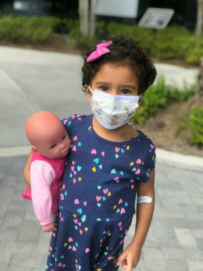 Foto13 Chloe Bella Carvalho Brasileiros buscam doador de medula óssea para a filha na FL