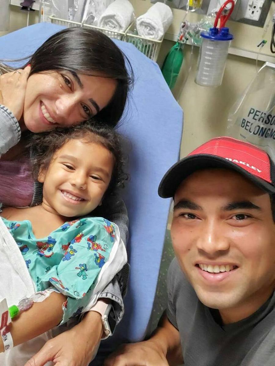 Foto13 Jairo Nayara e Chloe Bella Carvalho Brasileiros buscam doador de medula óssea para a filha na FL