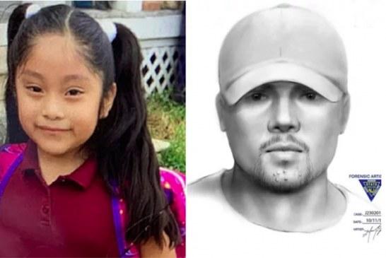 A polícia divulga retrato falado de sequestrador de menina em NJ