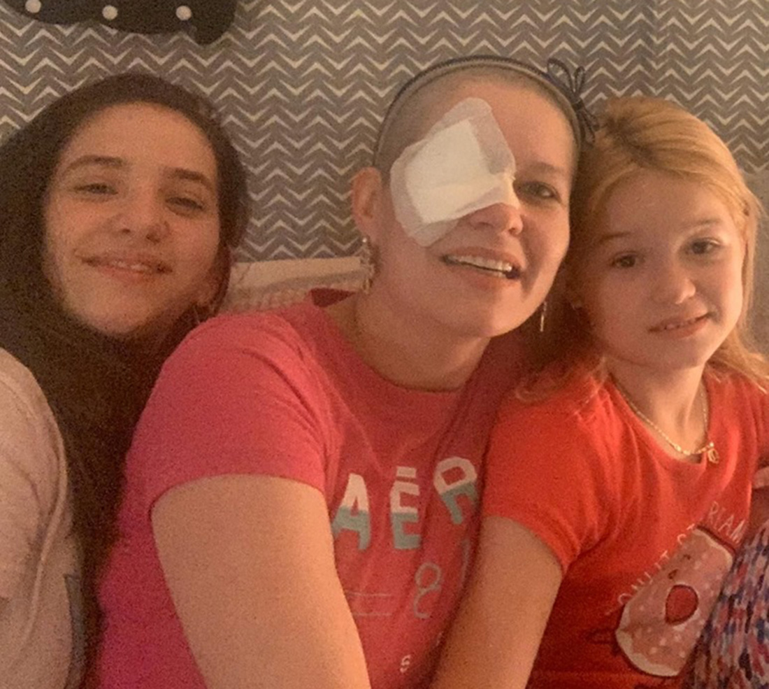 Foto2 Priscila Brasileira luta contra câncer ocular na Califórnia