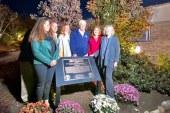 Zoo homenageia voluntário falecido em janeiro