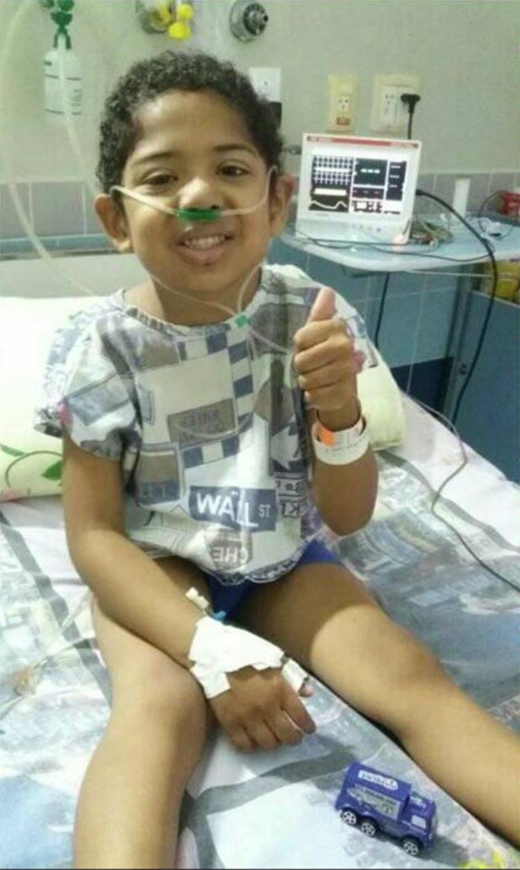 Foto26 Davi Lucas Brasileirinho com leucemia busca doador de medula óssea compatível
