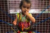 Brasileirinha com síndrome rara inicia tratamento na Flórida