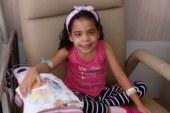 Brasileirinha encontra doador de medula óssea compatível