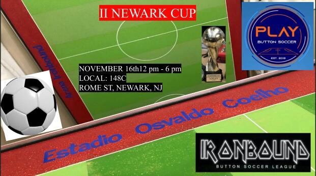 Foto1 II Newark Cup 1 1 Brasileiros realizam torneio 2ª Newark Cup de Botão