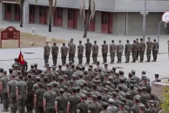 15 fuzileiros navais são presos e acusados de tráfico humano
