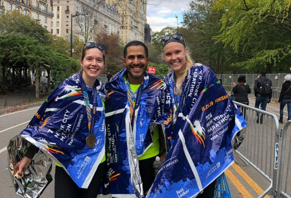 Brasileiro participa da Maratona de Nova York 2019