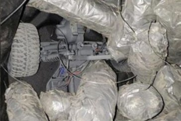 Adolescente traficou drogas na fronteira usando carro de brinquedo