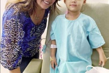 Brasileirinha segue a luta contra a leucemia em NJ