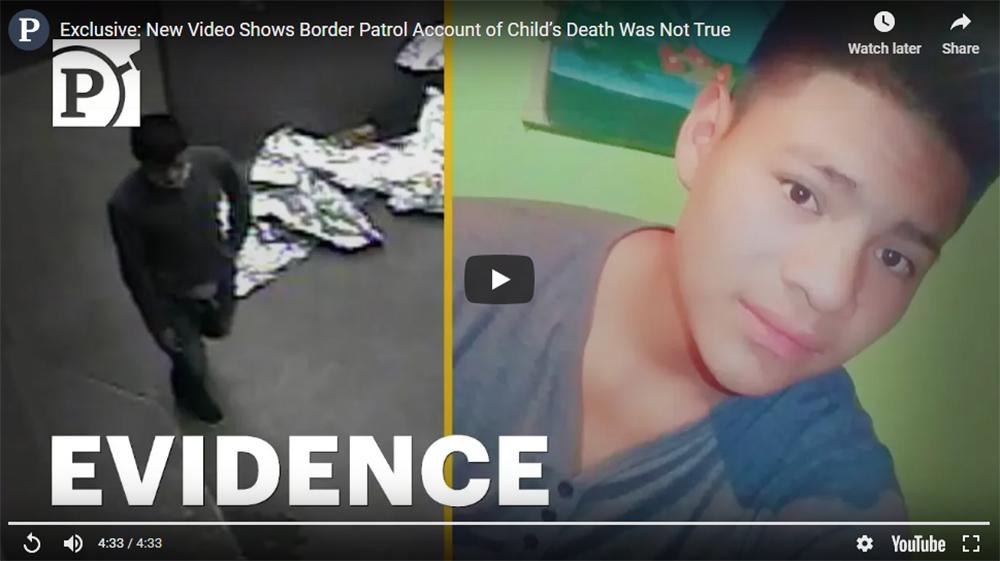 Foto19 Carlos Gregorio Hernandez Vasquez Vídeo mostra adolescente morrendo em cela do ICE