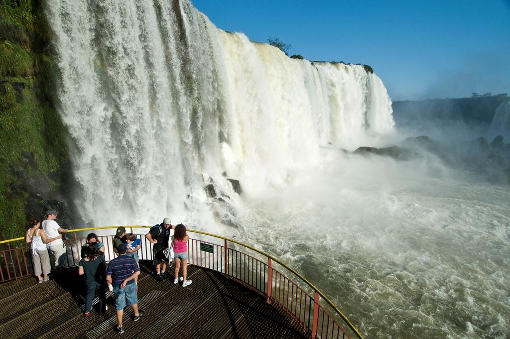 Foto6 Cataratas do Iguacu Cresce o número de turistas americanos que visitam o Brasil