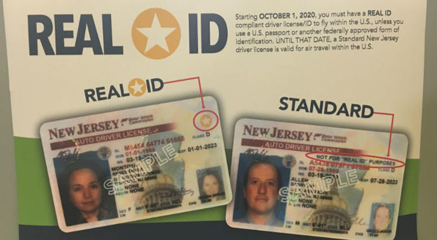 Foto25 Real ID Act NJ Real ID Act entrará em vigor em 1 de outubro nos EUA