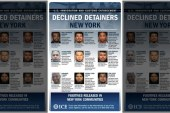 ICE expõe detentos indocumentados libertados por lei santuário em NYC