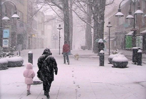 NJ: Autoridades prevêem neve, gelo e chuva para o final de semana