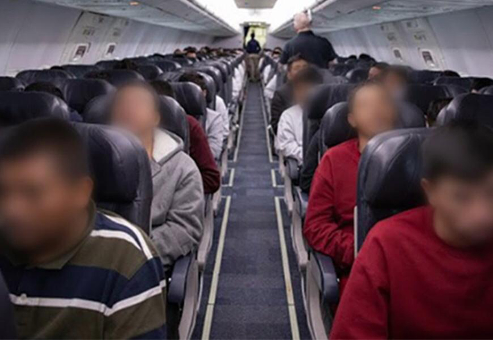 %name PF confirma chegada de mais um voo com brasileiros deportados