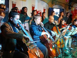 Concerto de Inverno da Escola de Música Paganini em NJ
