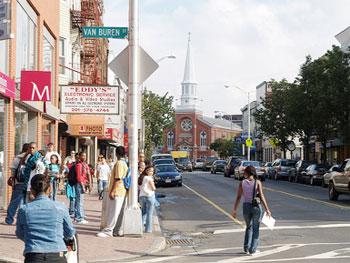 Iniciada 1º fase de revitalização da Ferry Street