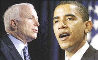 Obama e McCain enfatizam diferenças para atrair votos latinos