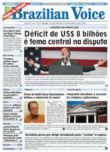Ed. 1122 – 31 de outubro de 2009