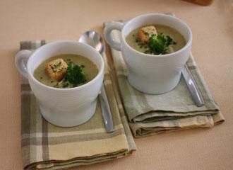 Sopa cremosa de Brócolis